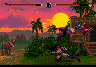 Eternal Champions (USA) In game screenshot